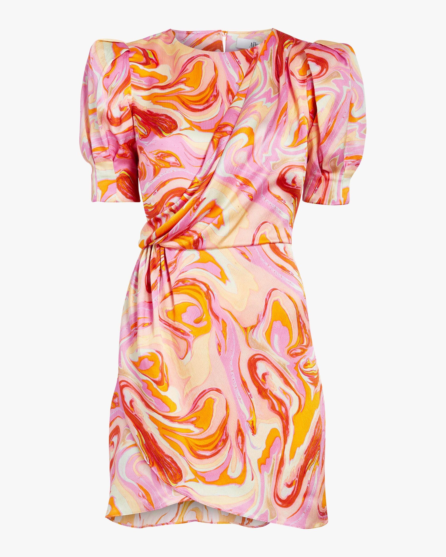 AIIFOS Stephanie Silk Dress 1