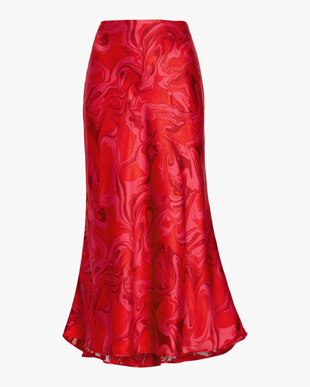 AIIFOS Slip Silk Skirt 1