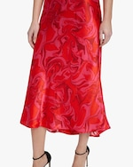 AIIFOS Slip Silk Skirt 3