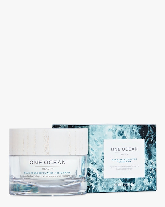 One Ocean Beauty Blue Algae Exfoliating Detox Mask 50ml 1