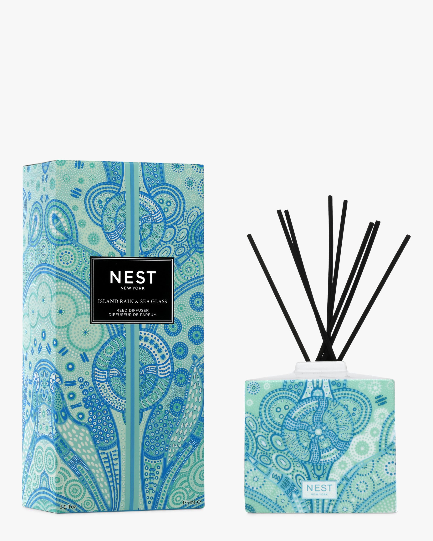 Nest Fragrances Island Rain & Sea Glass Reed Diffuser 175ml 0