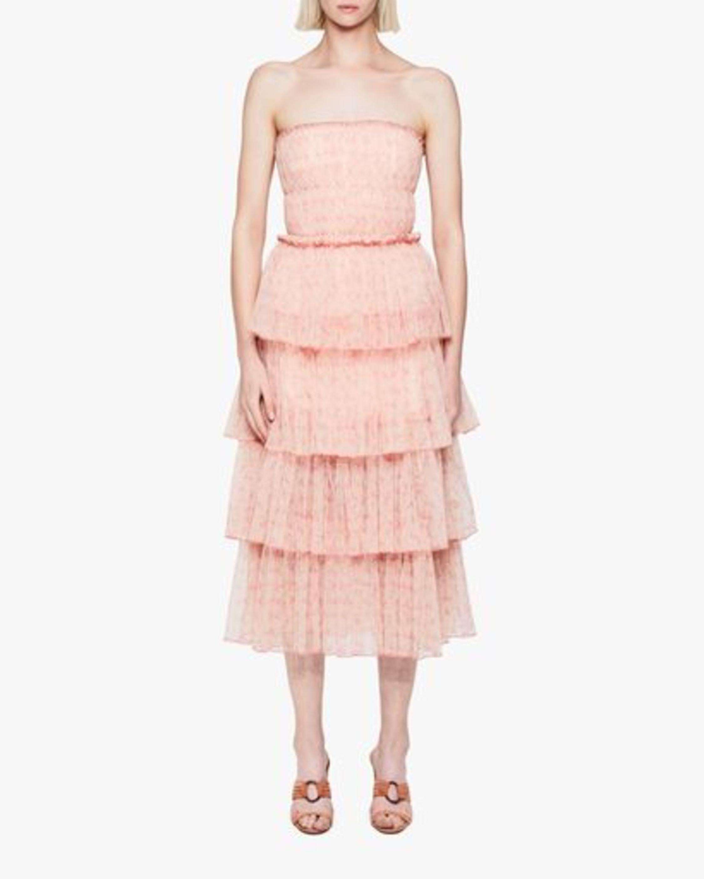 Haryln Tulle Midi Dress