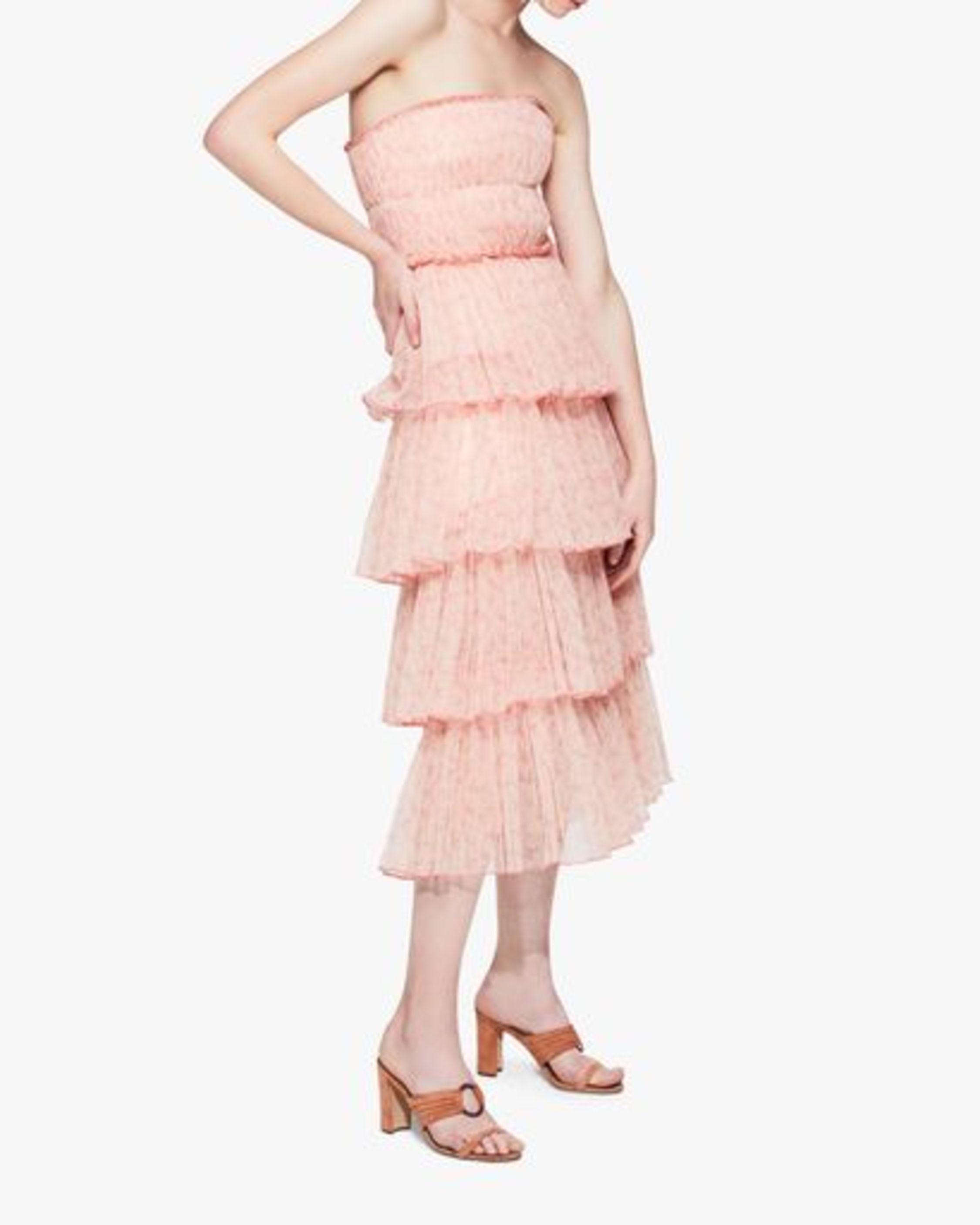 Jonathan Simkhai Haryln Tulle Midi Dress 3