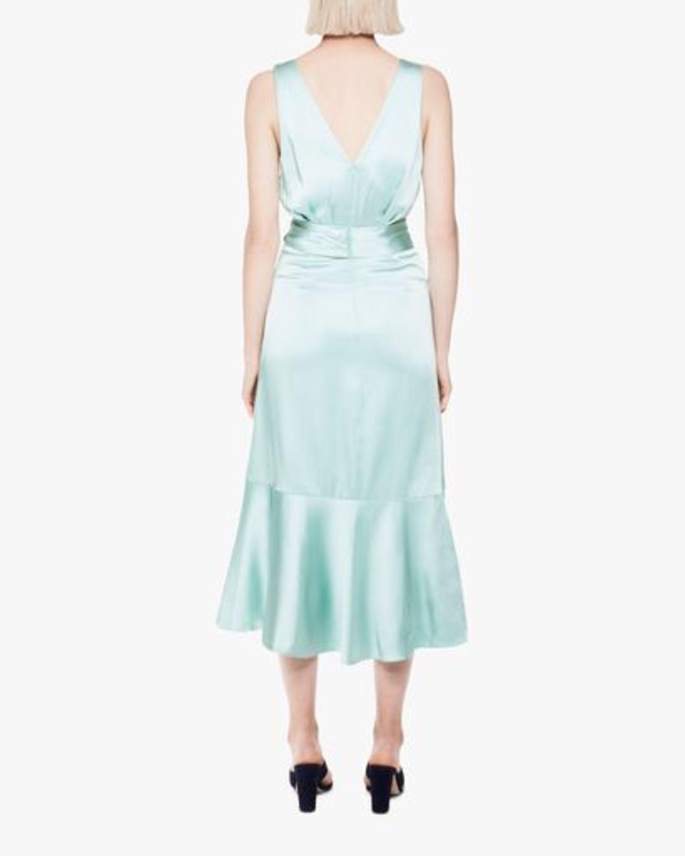 Jonathan Simkhai Mia Fluid Satin Maxi Dress 1