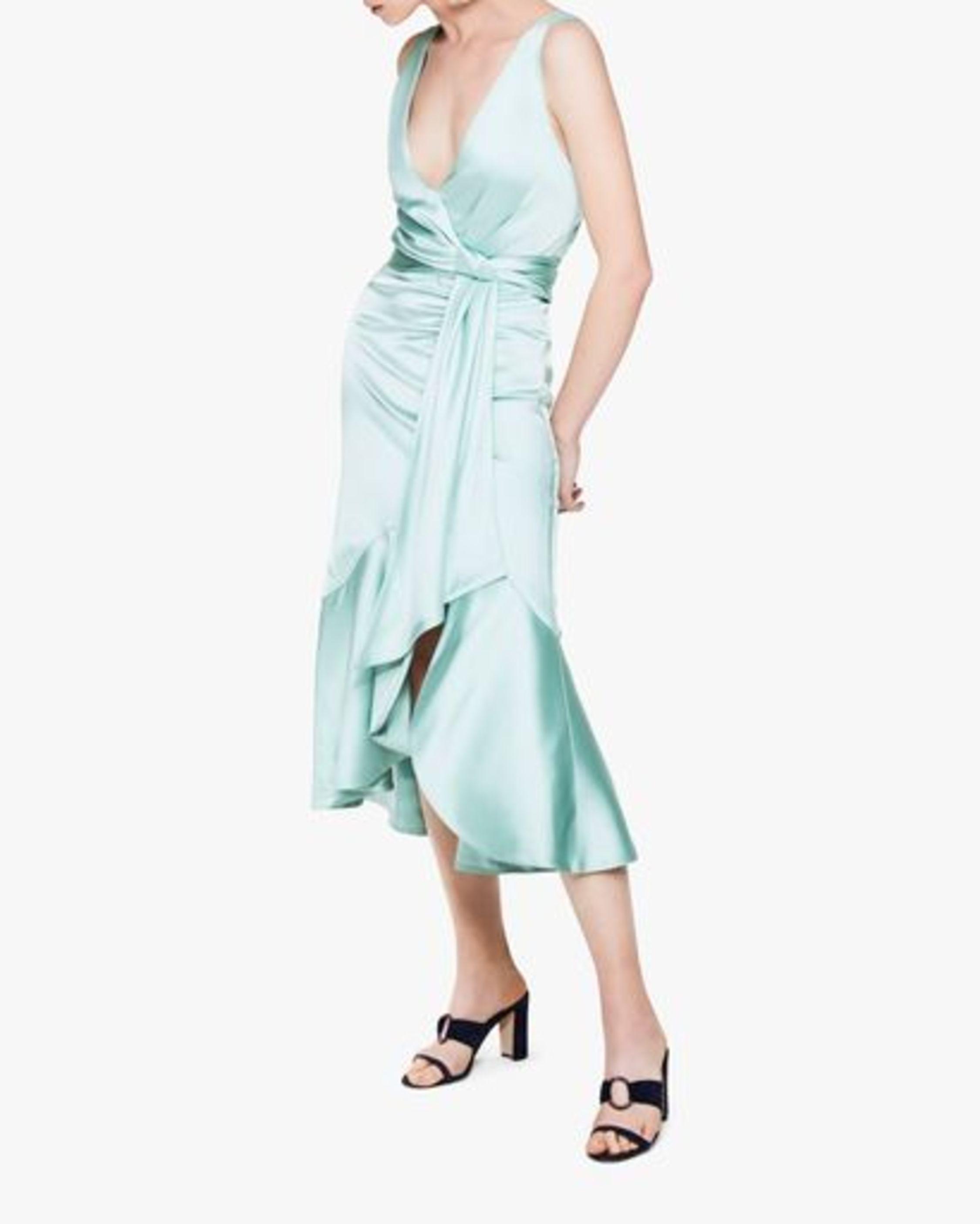 Jonathan Simkhai Mia Fluid Satin Maxi Dress 2