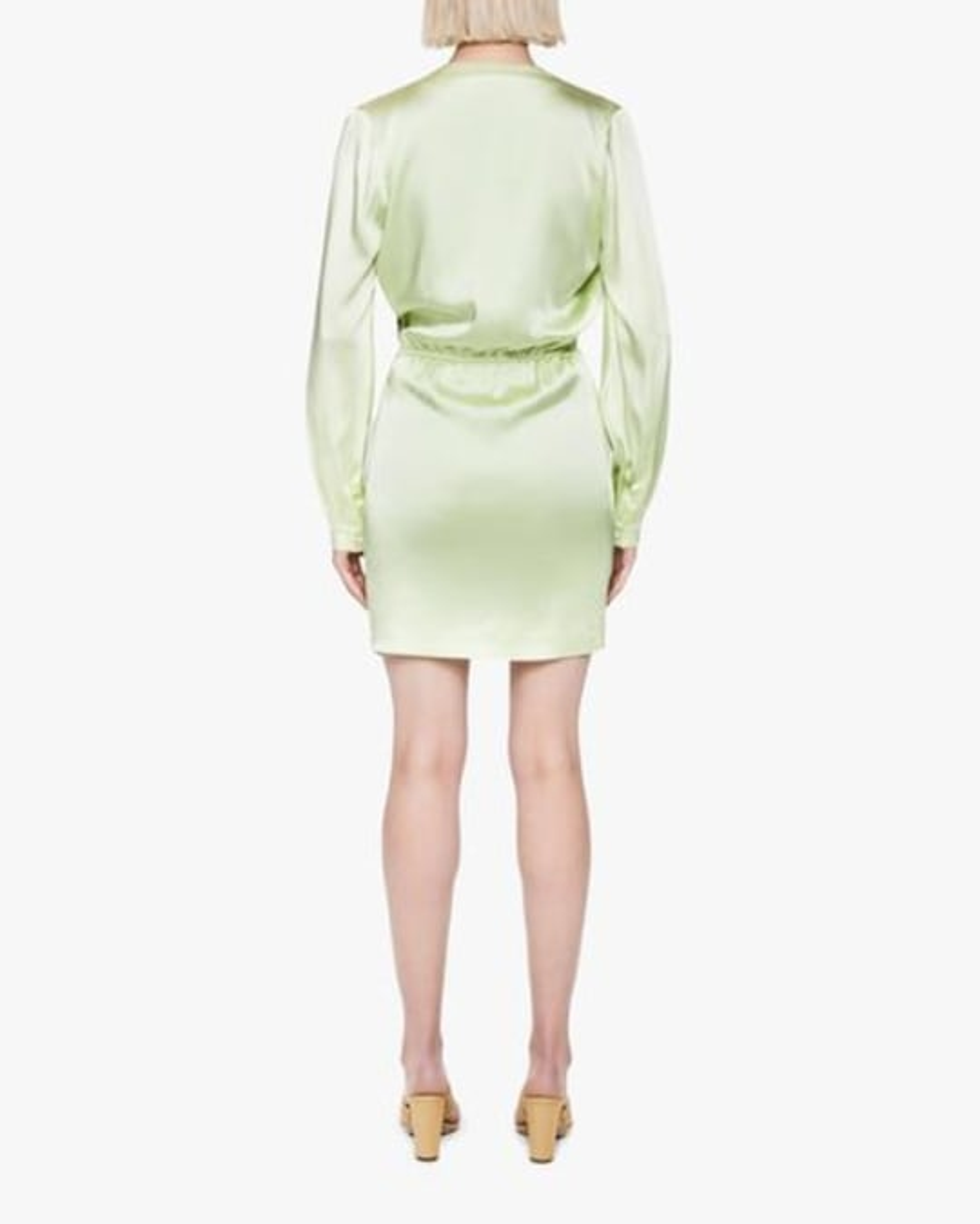 Jonathan Simkhai Justine Fluid Satin Mini Dress 1