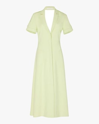Jonathan Simkhai Helena Crêpe Shirt Dress 1
