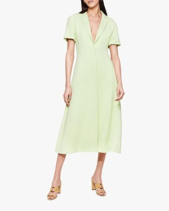 Helena Crêpe Shirt Dress