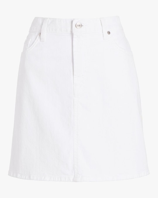 7 For All Mankind A-Line Mini Skirt 0