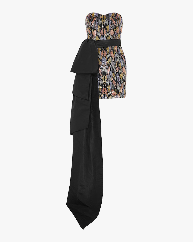 SemSem Sequin Bustier Bow Dress 1