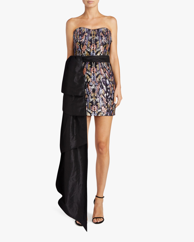 SemSem Sequin Bustier Bow Dress 2