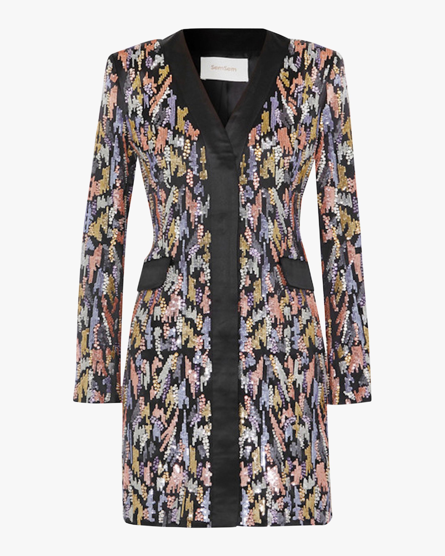 SemSem Sequin Blazer Dress 1