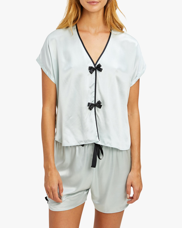 Morgan Lane Joanie Pajama Top 1