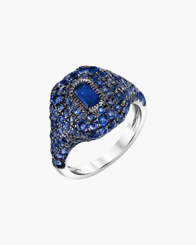 Shay Jewelry Pavé Sapphire Pinky Ring 0
