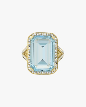 Crystal Portrait Ring
