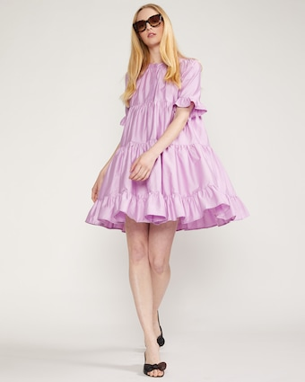 Cynthia Rowley Kaia Tiered Mini Dress 2