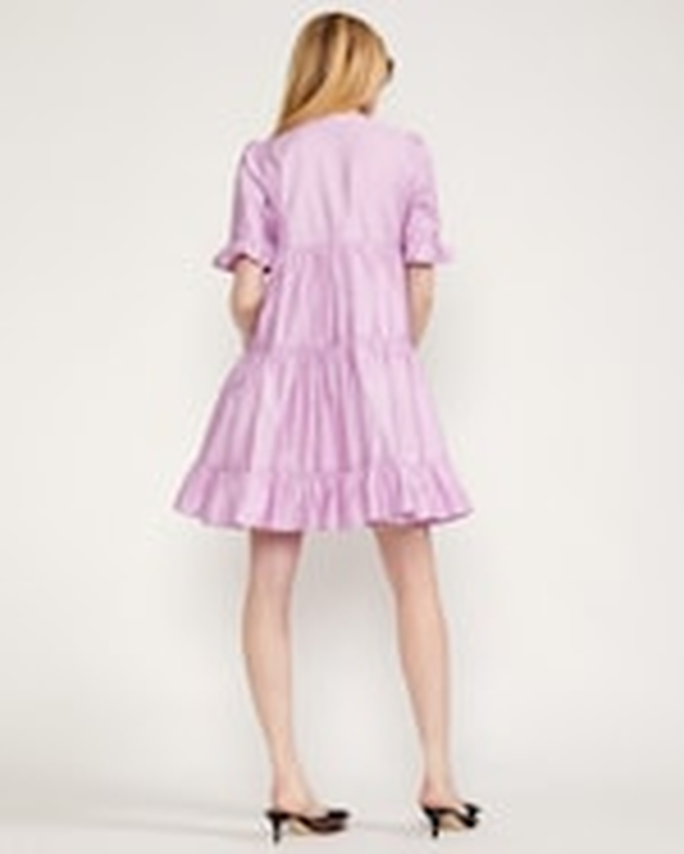Cynthia Rowley Kaia Tiered Mini Dress 2