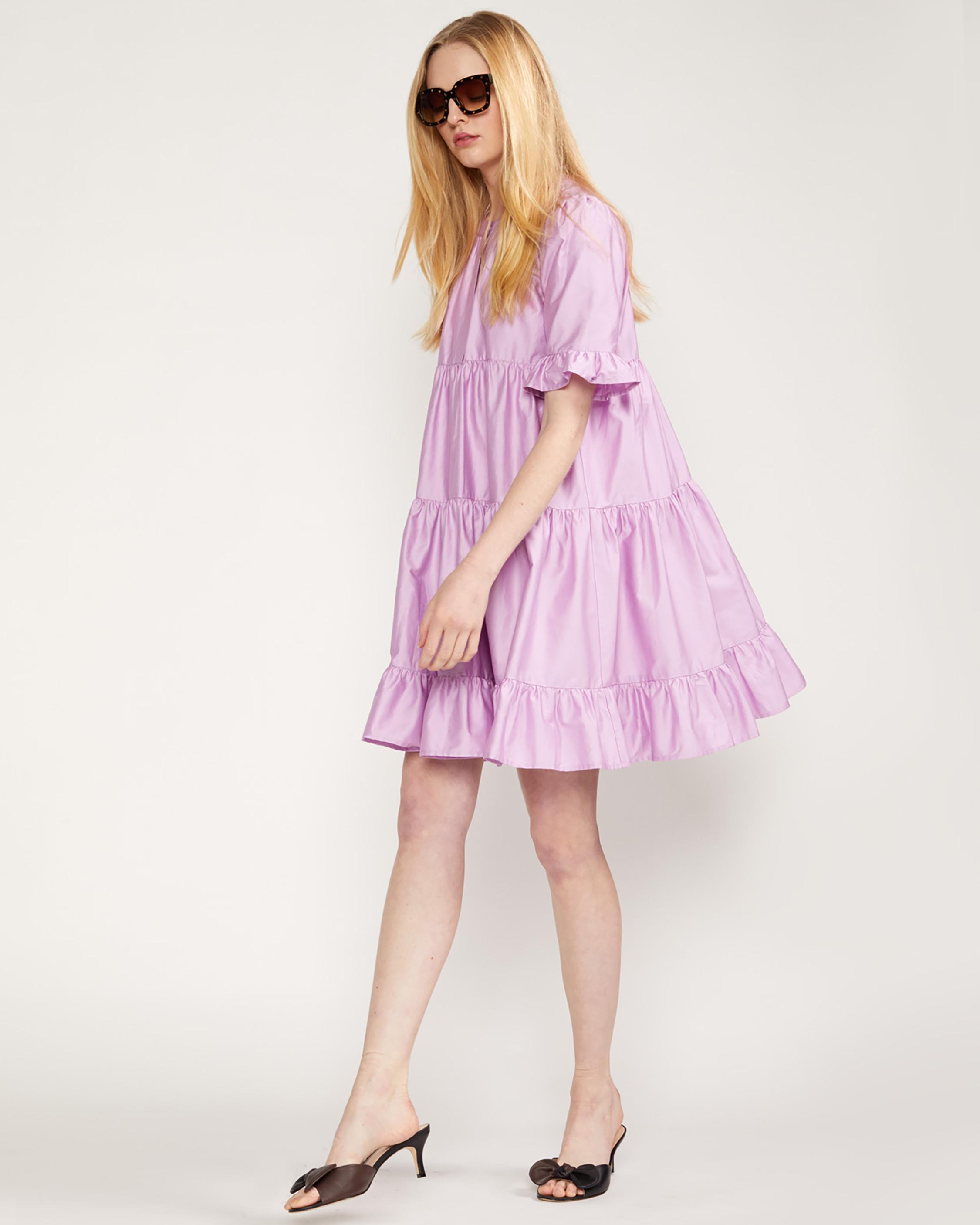 Cynthia Rowley Kaia Tiered Mini Dress 3