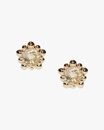 Micro Dew Drop Stud Earrings