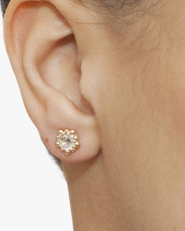 Anzie Micro Dew Drop Stud Earrings 1