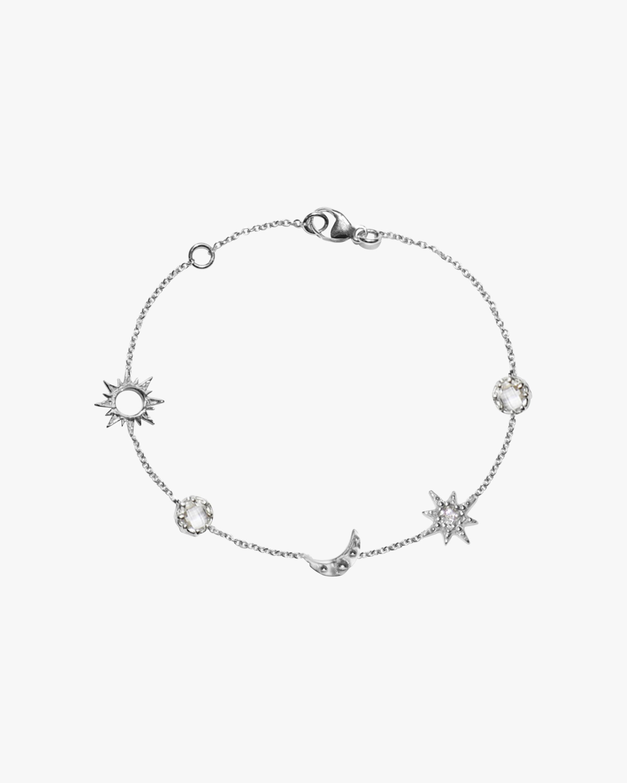 Anzie Micro Starburst Link Bracelet 2