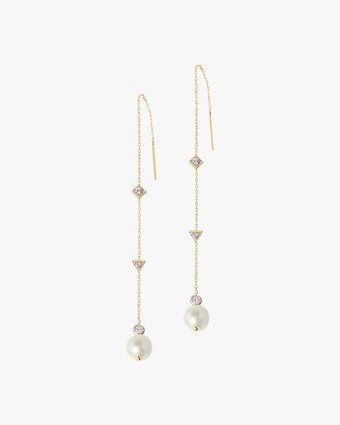 Cléo Chain Threader Earrings
