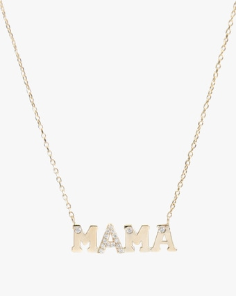 Anzie Love Letter MAMA Necklace 2