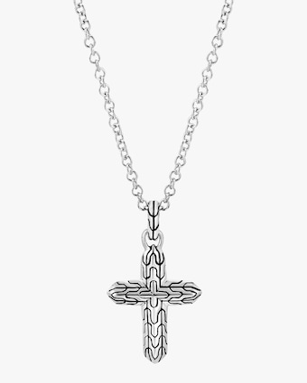 Classic Chain Cross Pendant Necklace