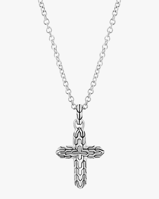 John Hardy Classic Chain Cross Pendant Necklace 1
