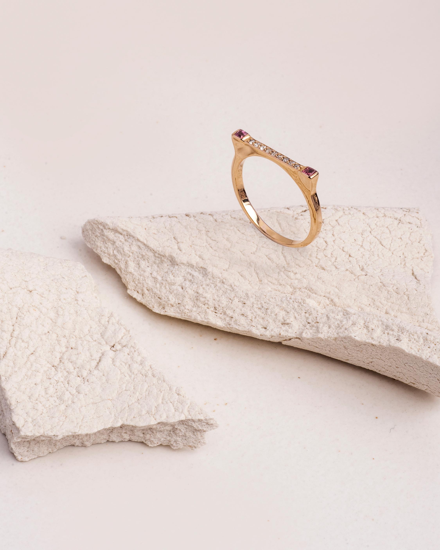 Lunaya Gem Dash Diamond Ring 1