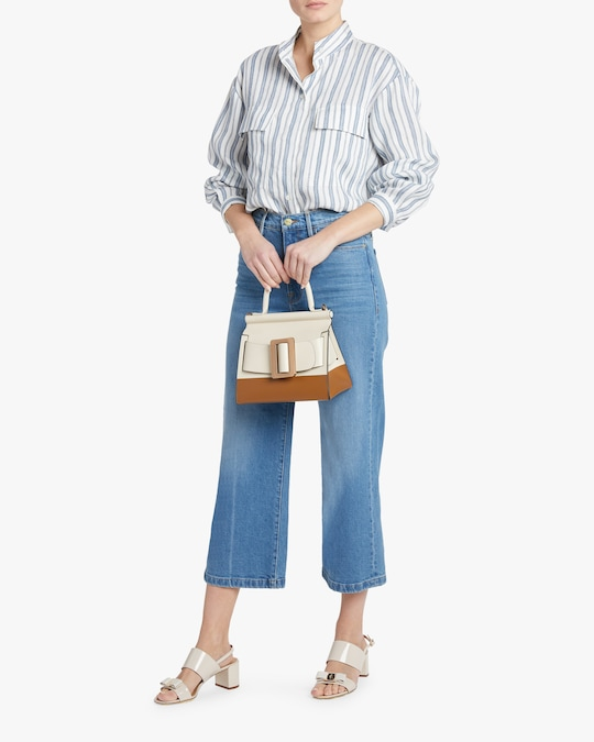 Frame Ali Wide Cropped Jeans 1