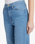 Frame Ali Wide Cropped Jeans 4