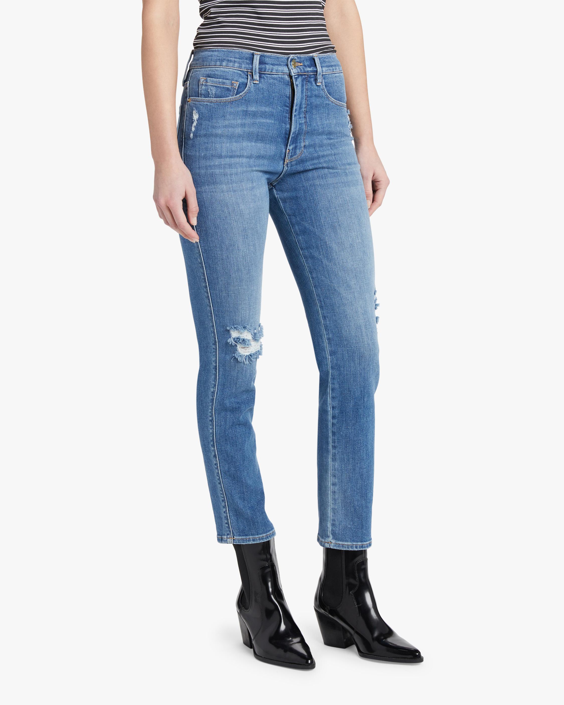 Frame Le Sylvie Slender Straight Jeans 2