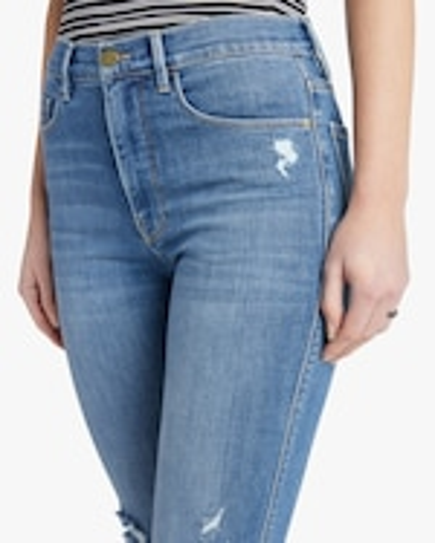Frame Le Sylvie Slender Straight Jeans 4