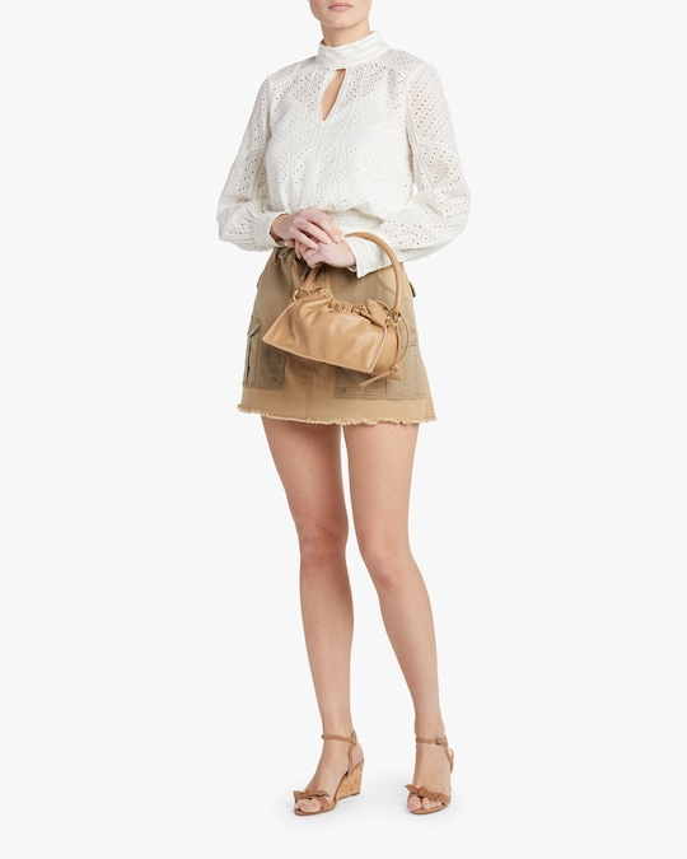 Frame Paperbag Skirt 1