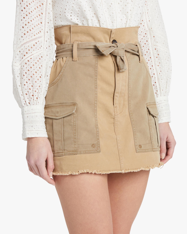 Frame Paperbag Skirt 2
