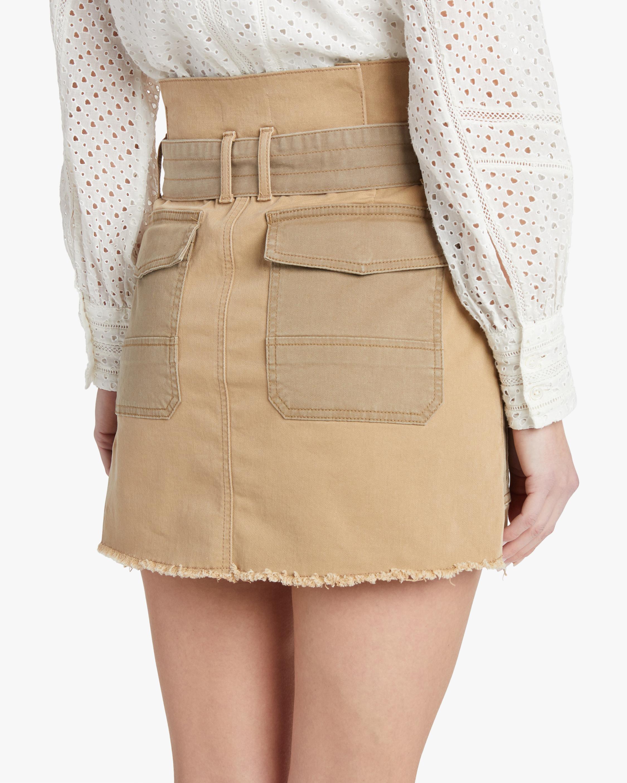 Frame Paperbag Skirt 3