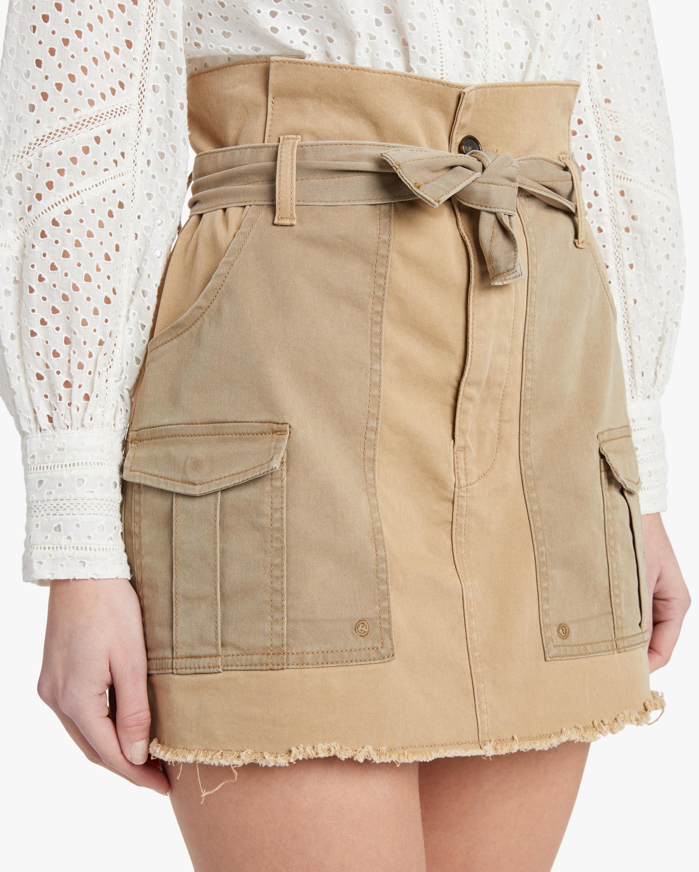 Frame Paperbag Skirt 4