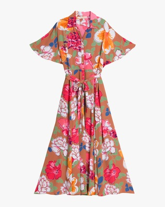 byTimo Summer Maxi Shirt Dress 1