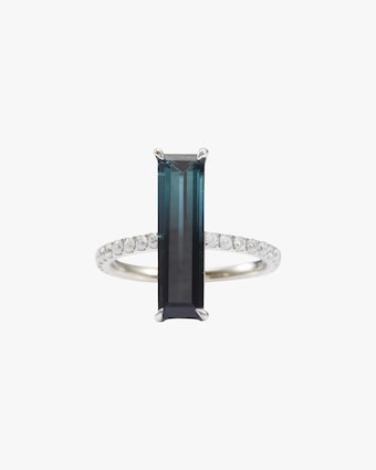Yi Collection Tourmaline & Diamond Gradient Ring 1