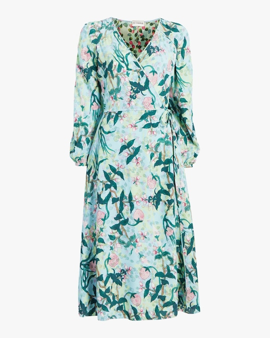 Diane von Furstenberg Evelyn Midi Dress 0