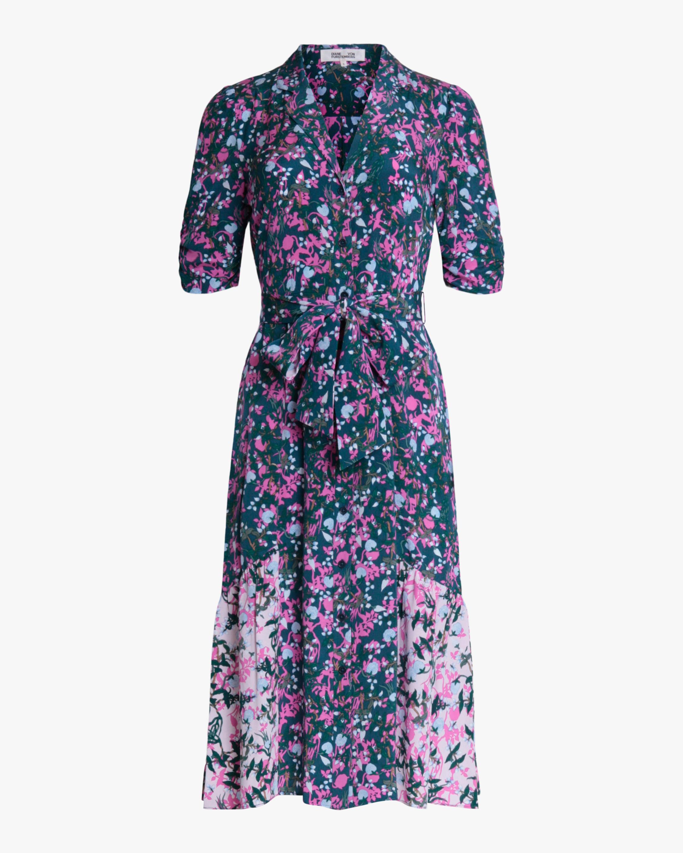 Diane von Furstenberg Sparrow Midi Dress 0
