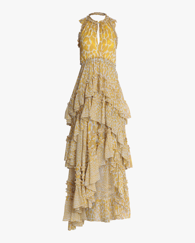 Diane Von Furstenberg CARISSA HIGH-LOW DRESS