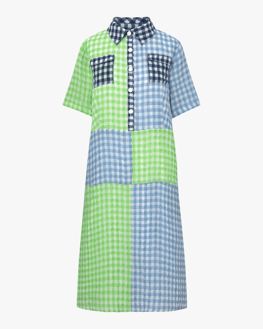 Autumn Adeigbo Carrie Shirt Dress 0