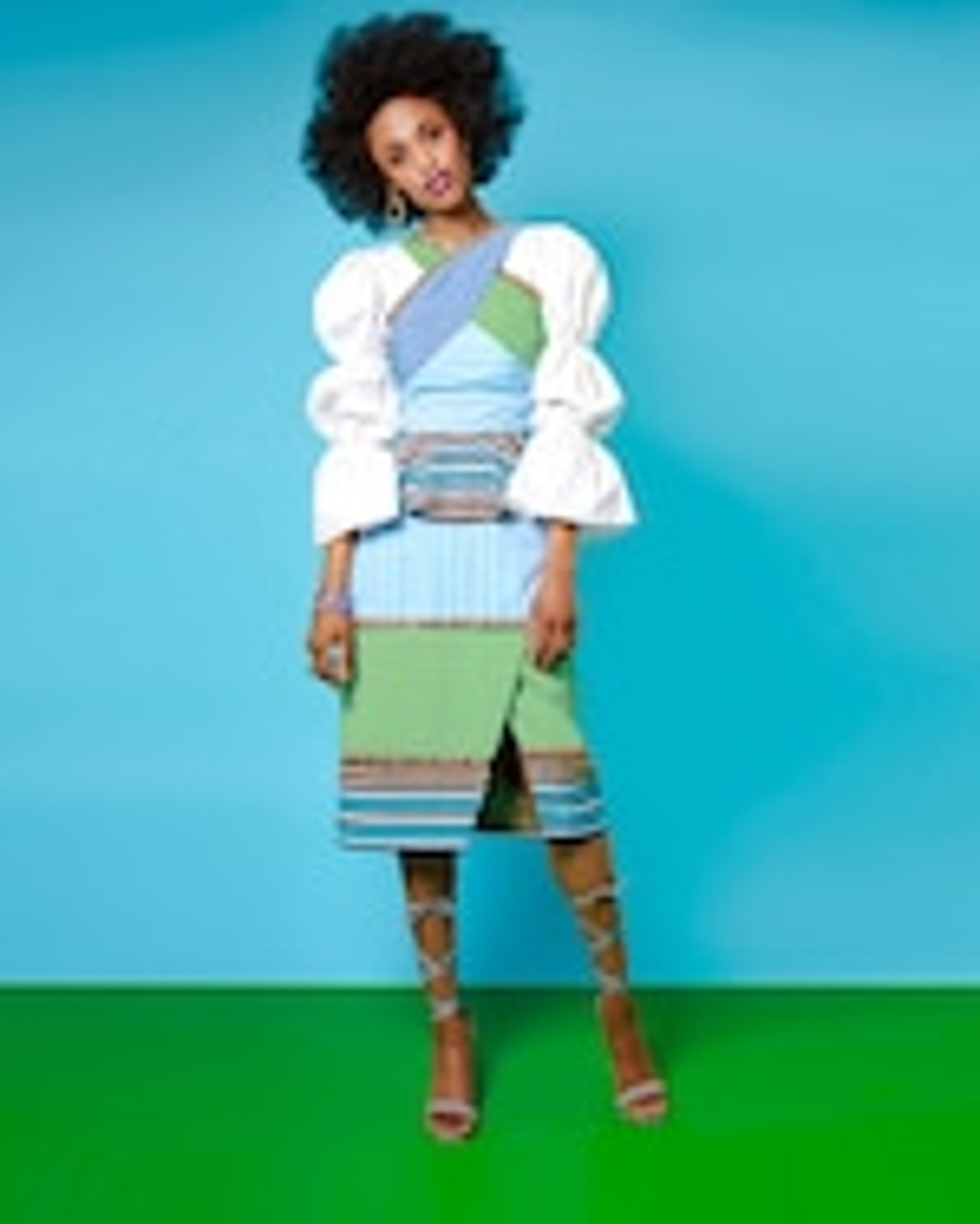 Autumn Adeigbo Colette Skirt 5