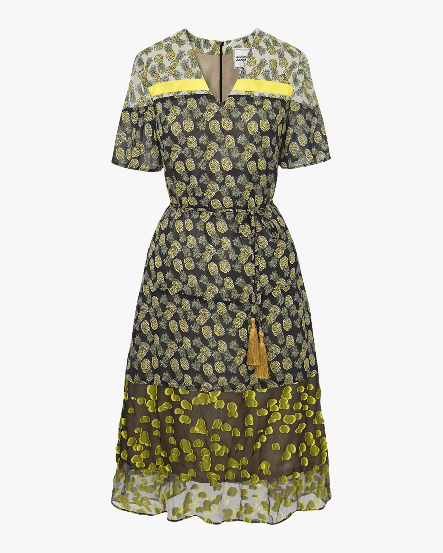 Autumn Adeigbo Heidi Printed Dress 1
