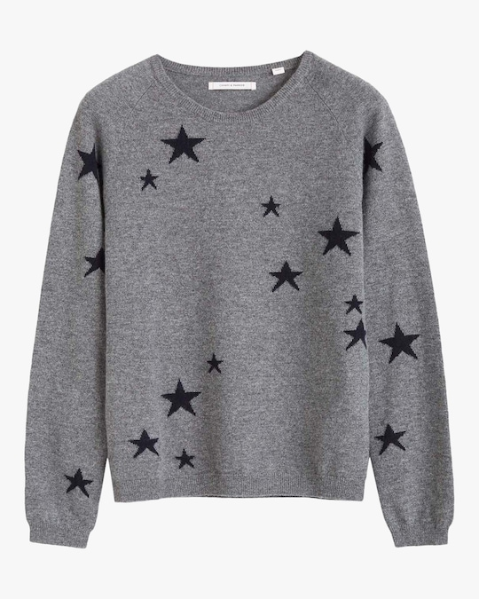 Chinti and Parker Star Cashmere Sweater 0