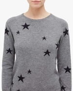 Chinti and Parker Star Cashmere Sweater 1