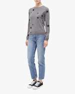 Chinti and Parker Star Cashmere Sweater 3