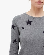 Chinti and Parker Star Cashmere Sweater 4